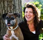 Nancy Castelli and dog