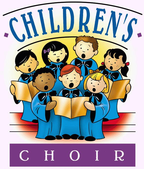 A children's choir for grades 3 through 6 is now being ...