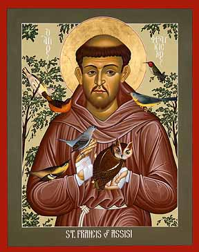 Icon of St. Francis