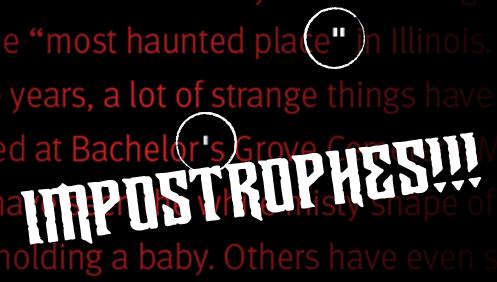 Impostrophes