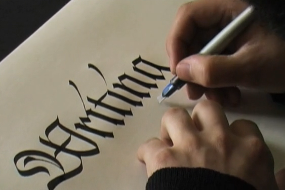 Calligraphy demo