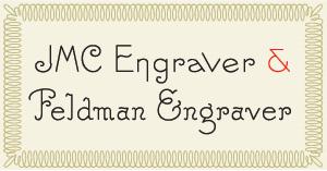 Engraver fonts