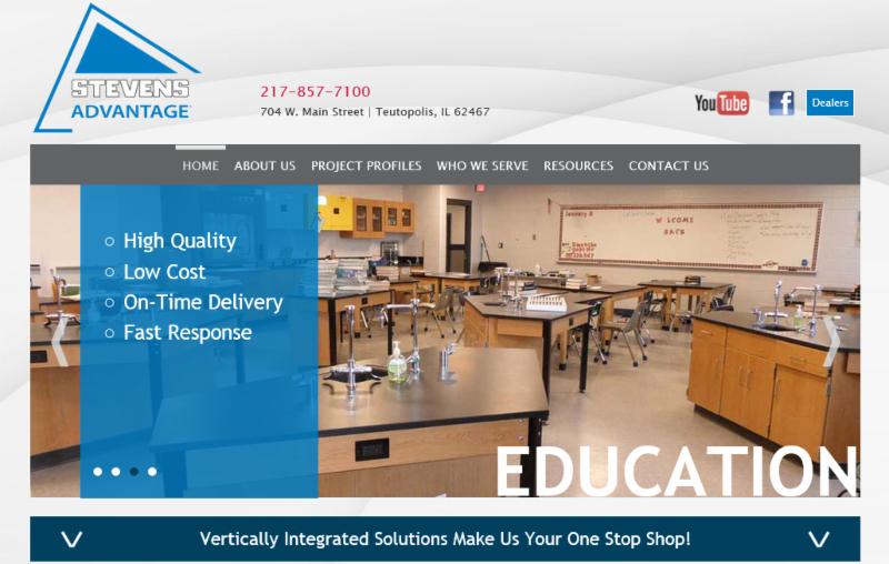 Stevens Advantage website