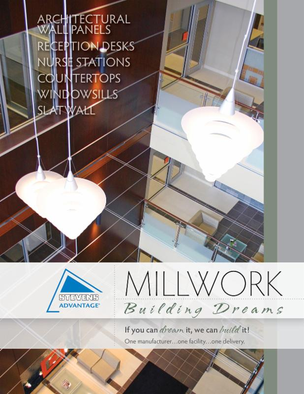Image of millwork brochure