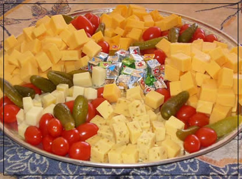 Cheese Platter April