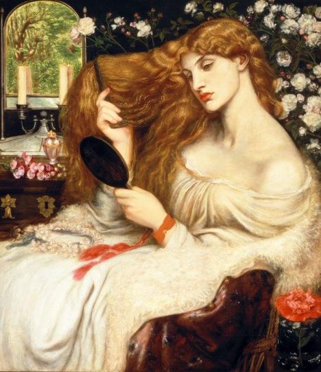 Lady Lilith, Dante Gabriel Rossetti