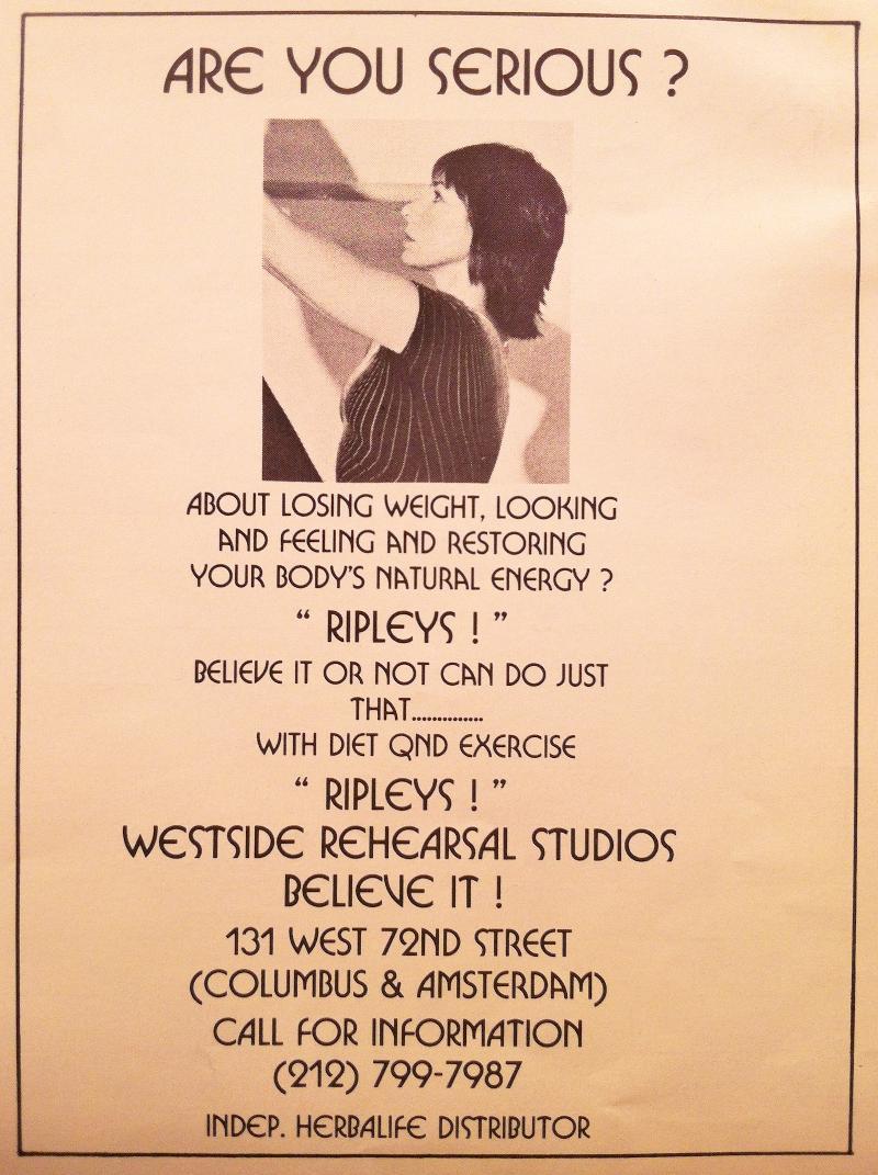 Ripley Fitness Ad