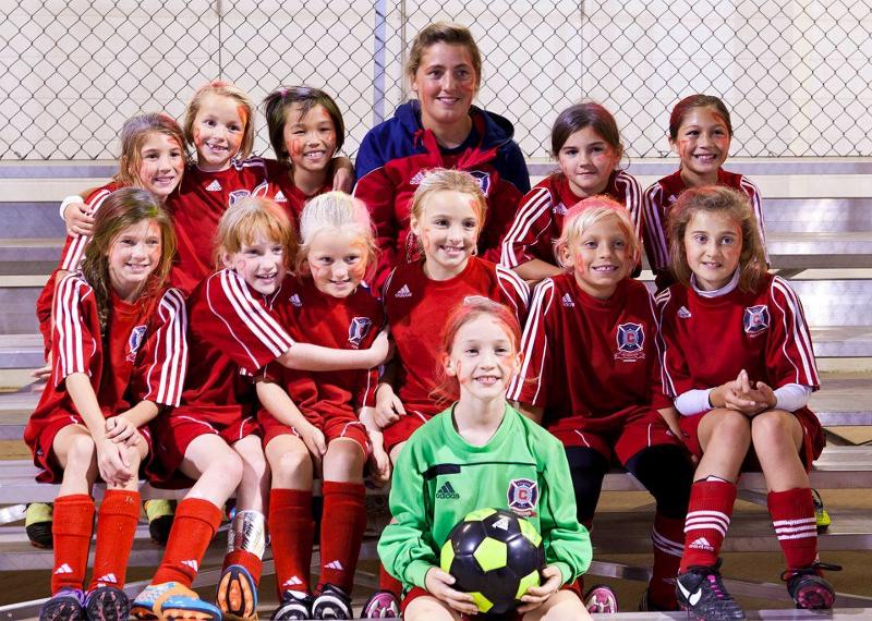 U9 CP Girls - Coach Judith Reid