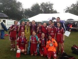 U13 Champions cup winners