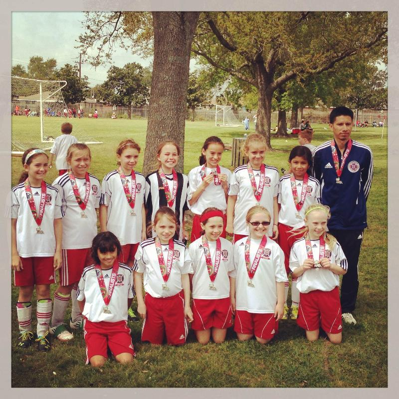 Metairie ydp u10 girls Finalist of silver division