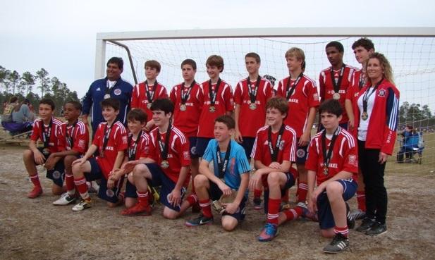 Orange beach u14 boys navy silver bracket winners