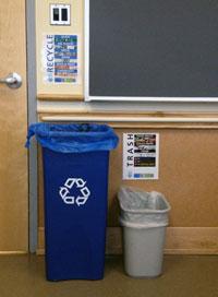 SAS recycling bins