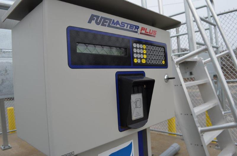propane fuel station