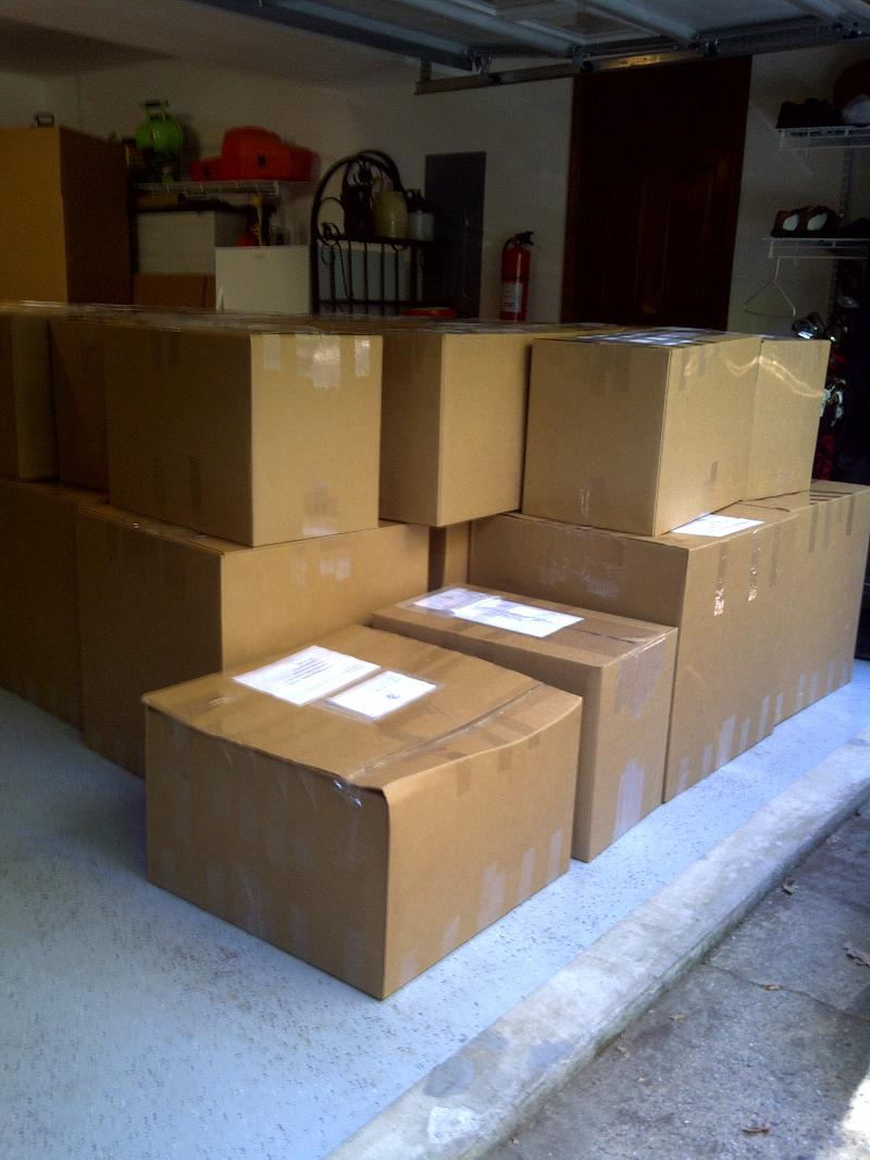 Pepsi Grant Shipment