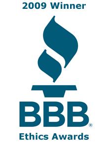 bbb ethics award
