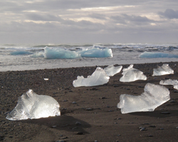Ice Diamonds in Iceland
