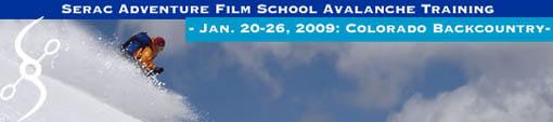 Serac Adventure Film School Snow Camping and Avalanche Training