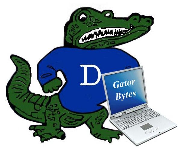 Big Al with computer