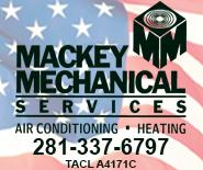 Mackey Mechanical ad