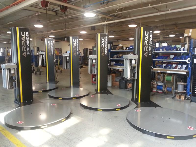 Sidewinder 4 stretch machines