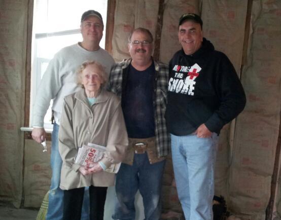 Doug with Volunteers