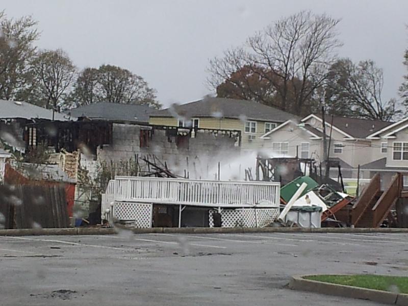 Sandy's destruction