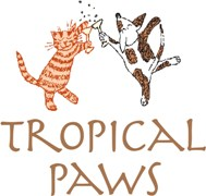Tropical Paws Logo
