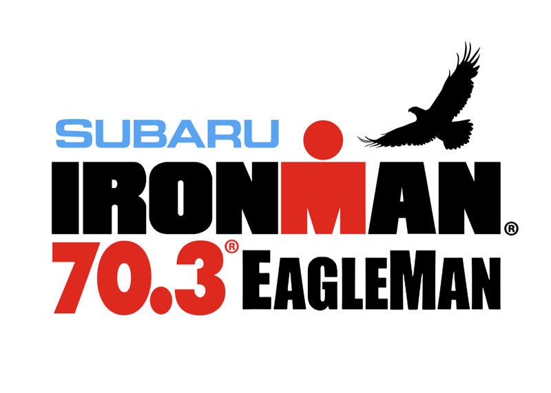 2011 Ironman 70.3 EagleMan logo