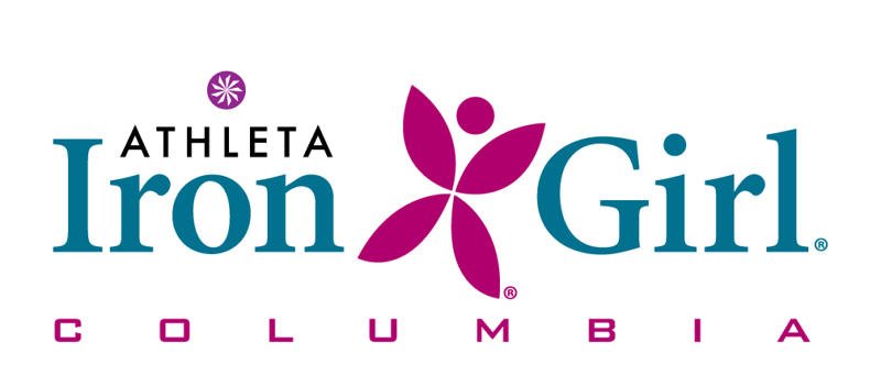 Athleta Iron Girl Columbia Logo