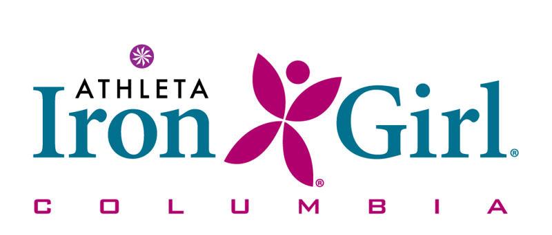 Athleta Iron Girl Columbia Logo