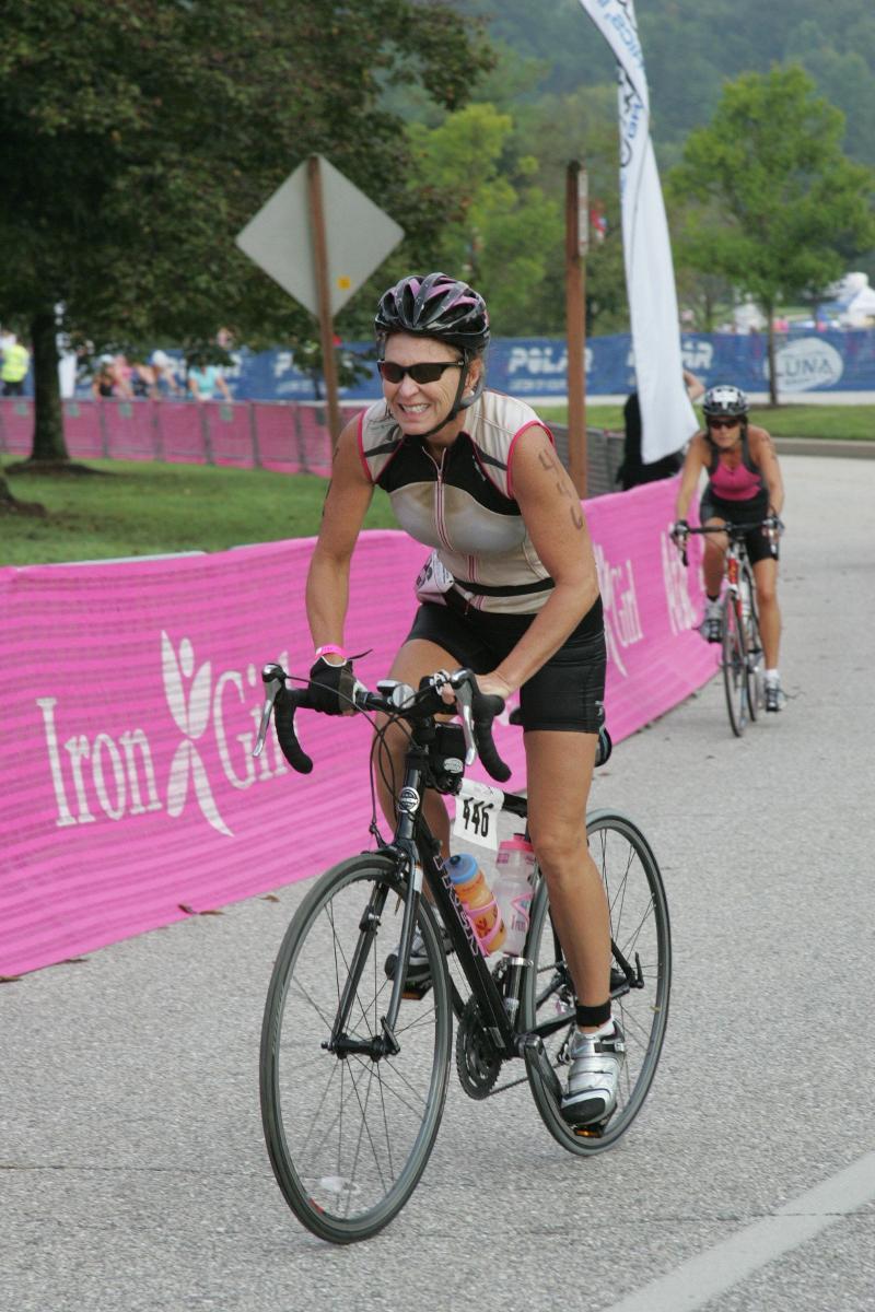 Iron Girl Biker