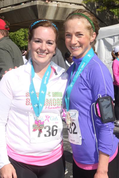 Iron Girl Half Marathon finishers