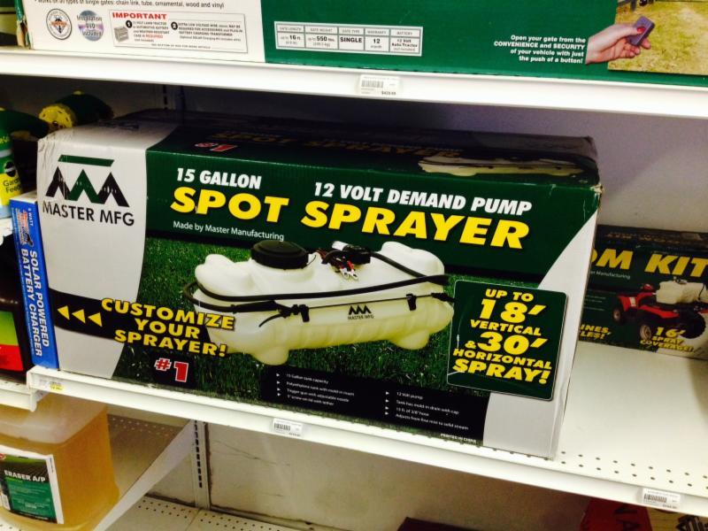 lawn sprayer