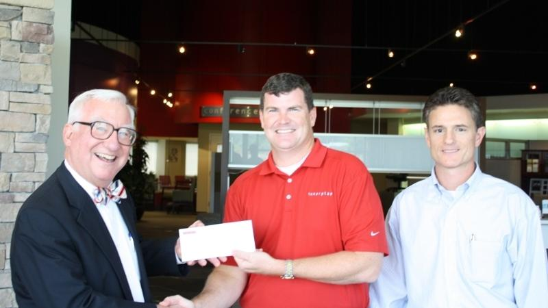 AIACS Golf Tournament Donation