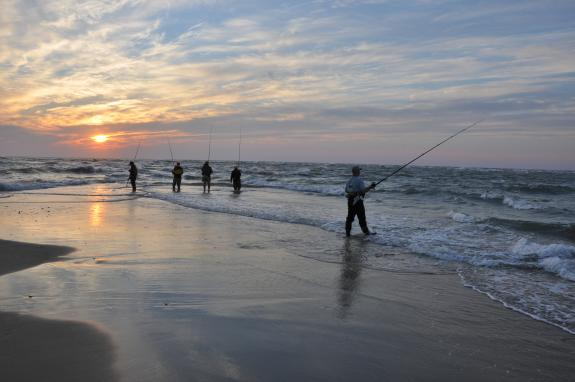 fishermen at Cape Hatteras