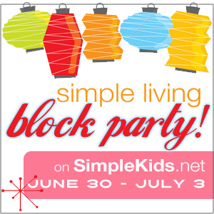 simple kids block party