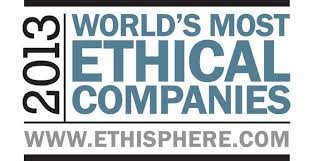 World's Most Ethical Companies 2013