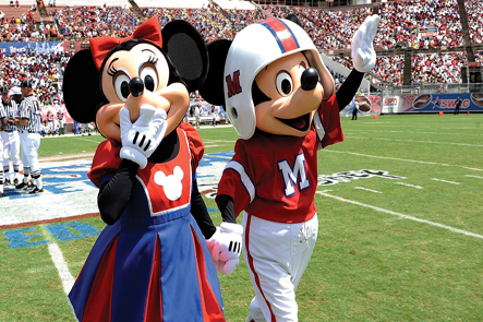 Mickey & Minnie MEAC/SWAC