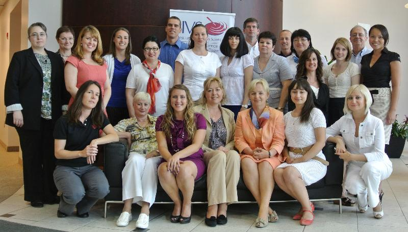Participants in the June 2012 IIVS Sponsored Russian Workshop
