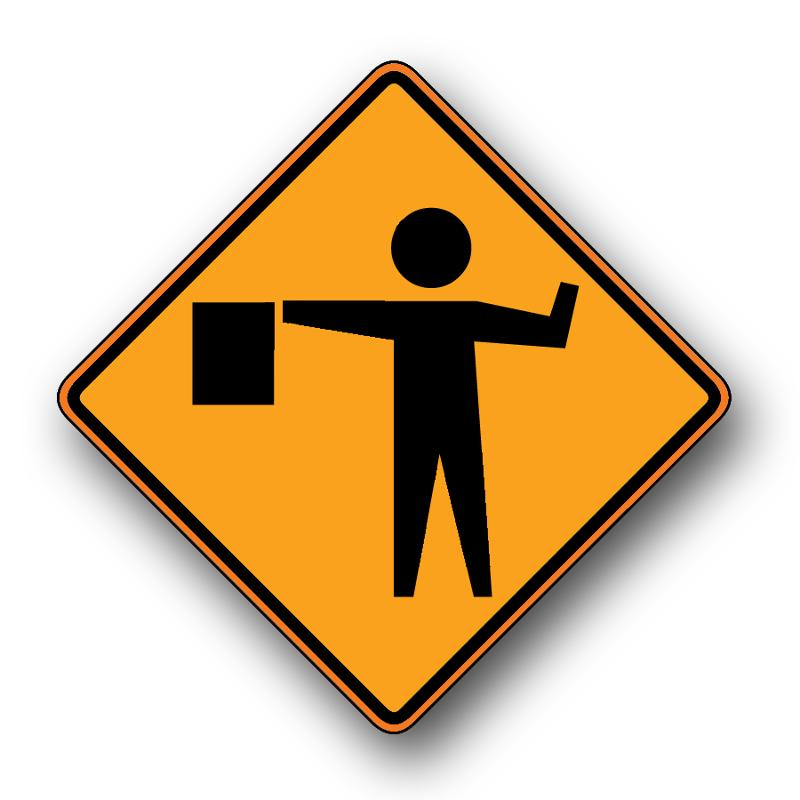 Highway Project Sign