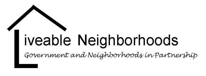 Liveable Neighborhoods