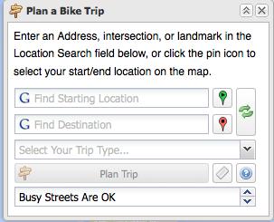 Bike mapper