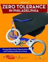Zero Tolerance Report Cover
