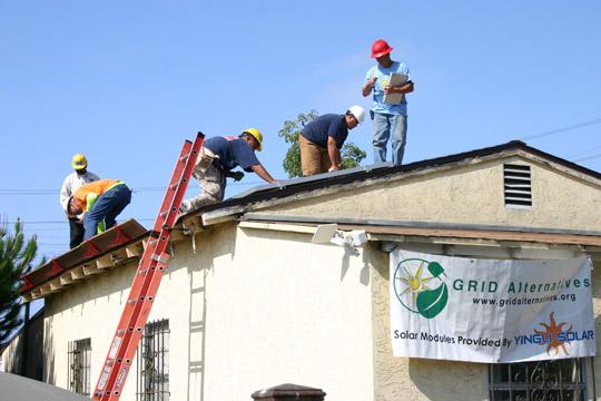 Solar Panels Newton Ave.
