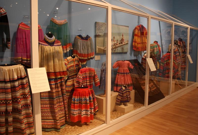 Seminole Exhibit Case- Museum of Florida History