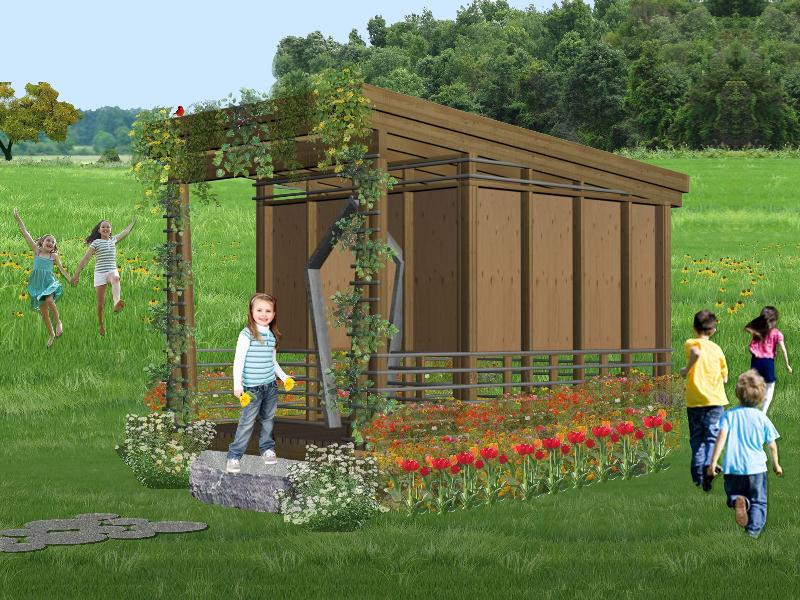 playhouse garden design