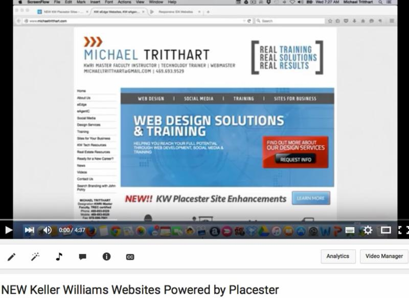 KW Websies Powered by Placester