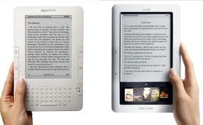 kindle and nook side by side