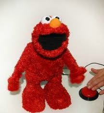 adapted elmo toy