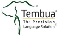 Tembua - The Precision Language Solution